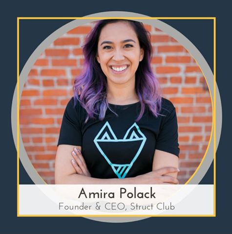 Amira Polack, founder and CEO of Struct Club