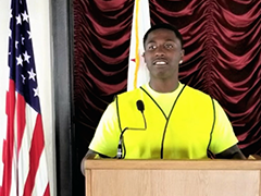 Jeremiah, participant in CRCD Enterprises LA:RISE program, speaks about his successful program experience