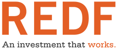 The Roberts Enterprise Development Fund (REDF) logo