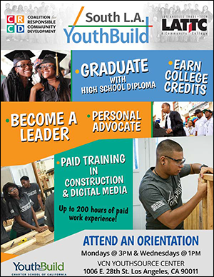 South LA YouthBuild Orientations