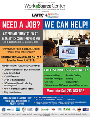 Unemployed and Looking for Work?